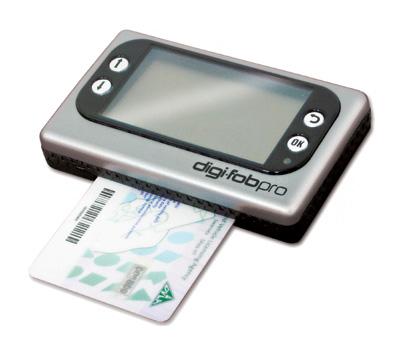 DigifobPro - urządzenia do szybkiego iłatwego pobierania danych ztachografów cyfrowych ikart.