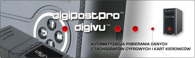 Tacho System - rozproszone punkty pobierania danych ztachografów cyfrowych ikart kierowców